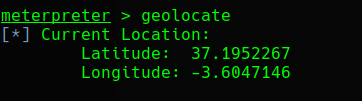 comando geolocate